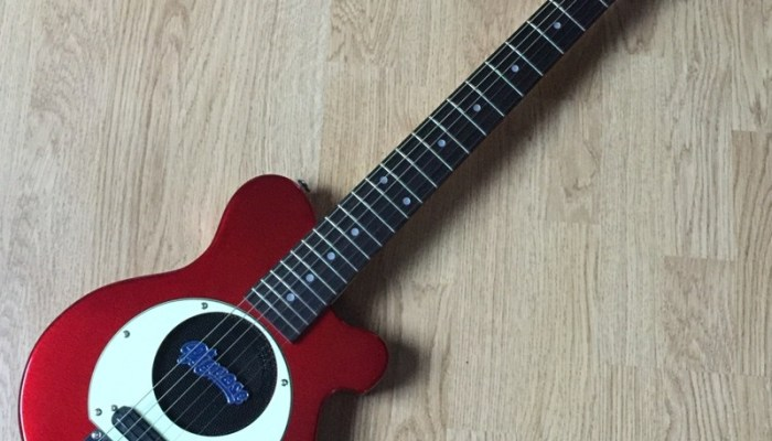 Guitare Pignose PGG 200 CA Finition Candy Apple