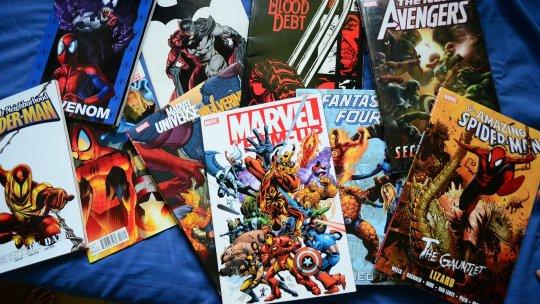 Les Comics Marvel à Lire