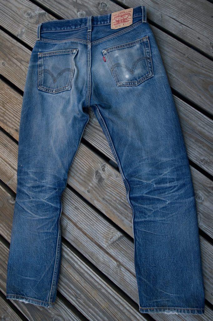 Une star parmi les les objets cultes des années 80 : le Jeans Levi's 501