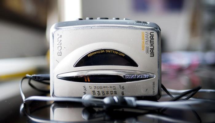 Objets Cultes des Années 1980 : un Walkman, une marque déposée de Sony