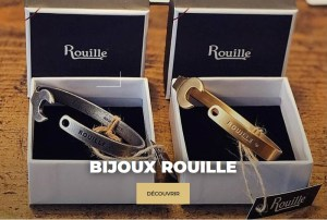 Bijoux Rouille chez Classic Ride