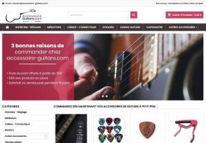 Accessoires Guitare pas chers : Ride Your Life vous a trouvvé une solution