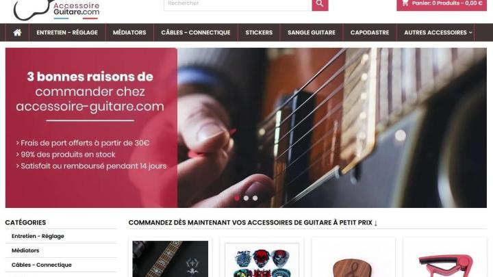 Accessoires Guitare pas chers : le choix de RYL