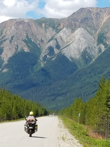 Nearing the end of the Stewart-Cassiar Highway