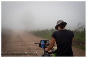Wenn der Nebel kommt, geht die Sicht, in Sekunden.