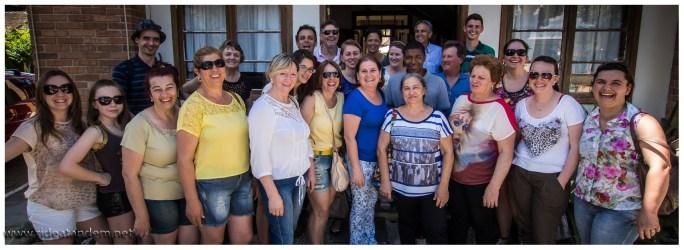 """Unsere deutsche """"Schulklasse"""". Super nette Runde, die uns einfach eingeladen haben, den Ausflug nach Deutsch-Brasilien zu begleiten. DANKE schön. Es war ein klasse Tag, mit lecker brasilianischem Essen."""