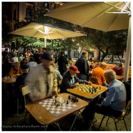 Schachspieler sind immer hellwach.