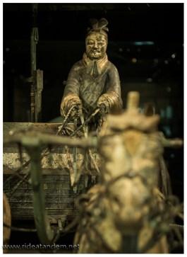 Die Kutschen stehen hinter Glas, die Chinesen kennen ihre Pappenheimer