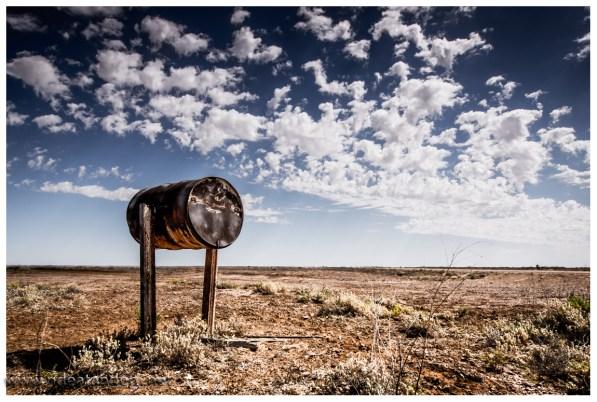 Postbox im Outback, wo immer der Empfänger wohnt?
