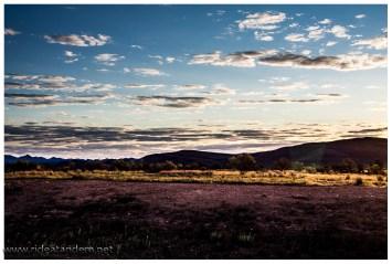 Abendstimmung am Ende der Flinders Ranges