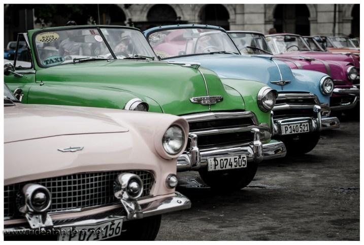 Wer meint ohne diese Autos durch Kuba zu kommen, muss im Flieger sitzen bleiben. Sie sind überall, diese Dinger.