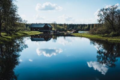 Wassermühle am See...