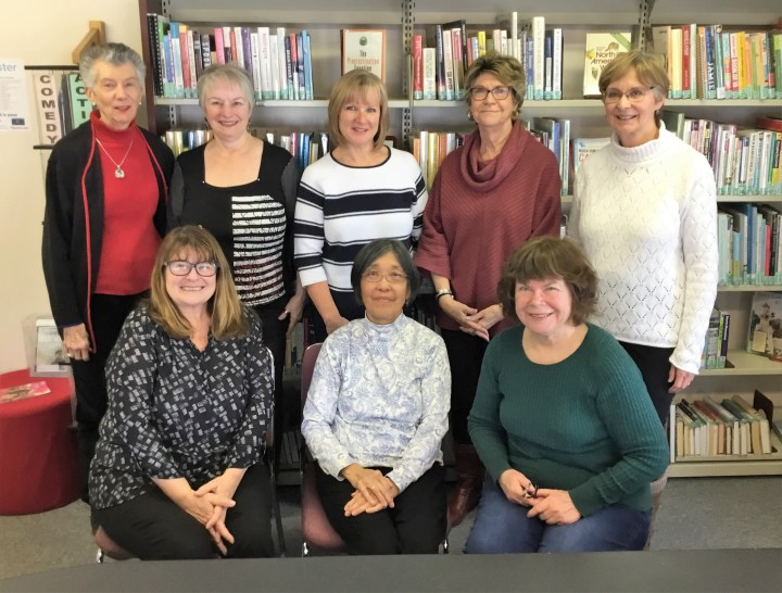 The women of the 2019 Friends Executive