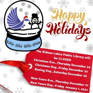 Holiday closed December 24, 25 & 26, 31 and January 1.