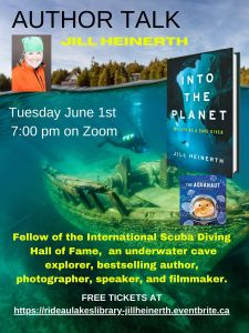 Author Talk with Jill Heinerth click to register