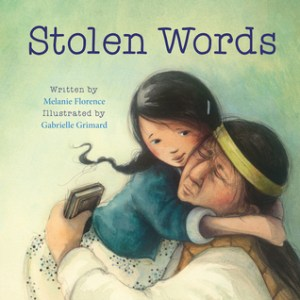 Stolen words by Melanie Florence book cover