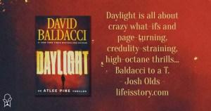 Daylight by David Baldacci book cover