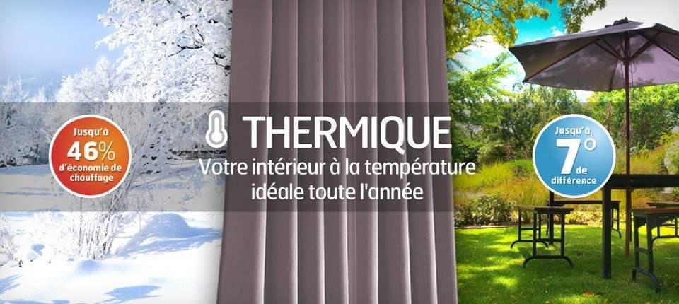 Le Choix D Un Rideau Thermique Rideaux Pas Cher