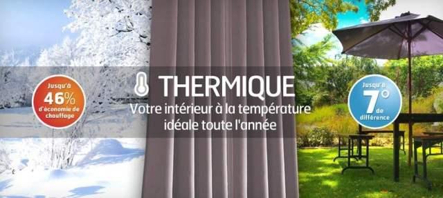 Le choix d'un rideau thermique – Ses avantages