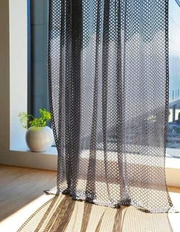 Le rideau transparent pour fenêtres