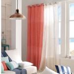 Habiller ses fenêtres en contraste avec les meubles