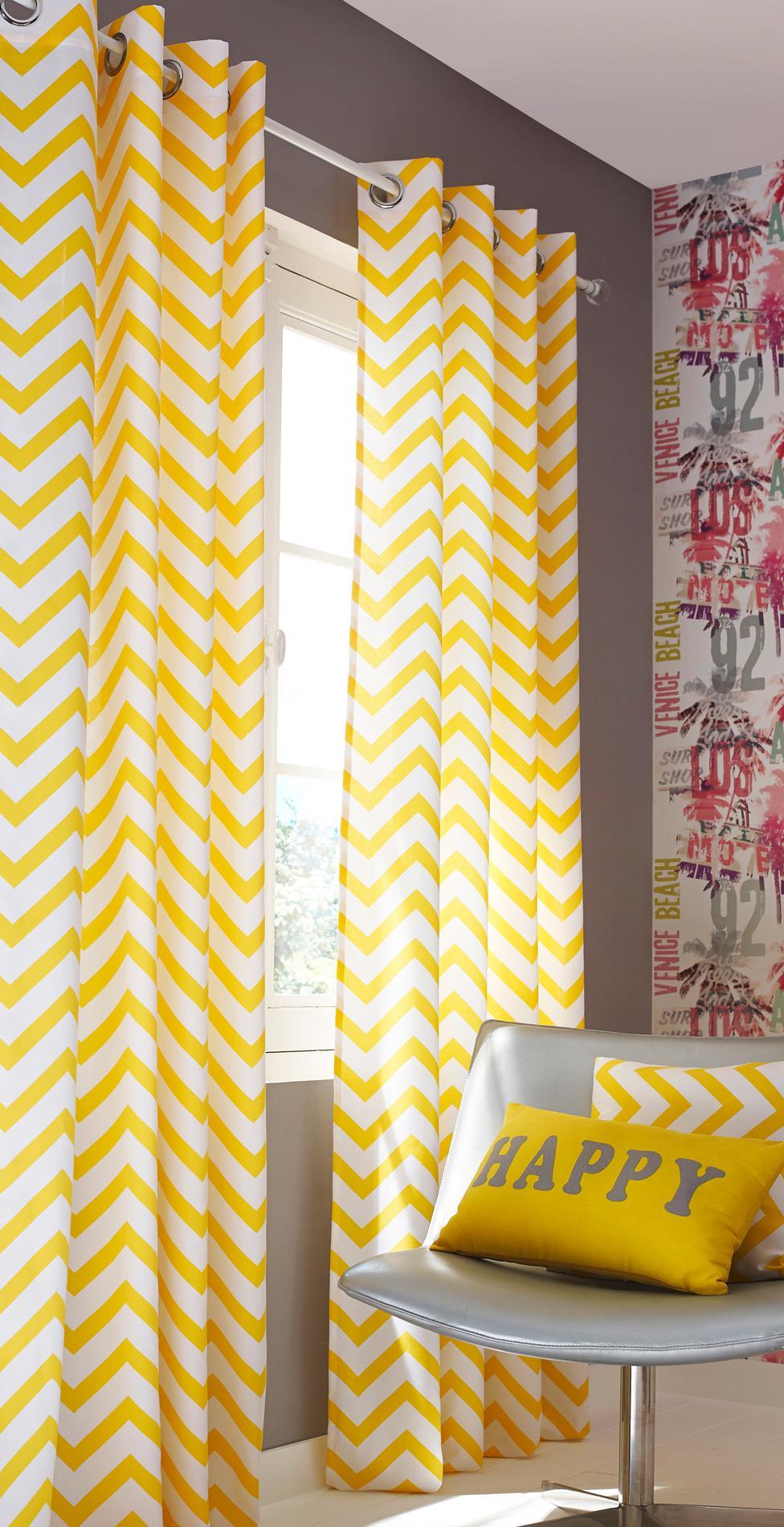 rideaux d co les tissus tendances en 2018 rideaux pas cher. Black Bedroom Furniture Sets. Home Design Ideas