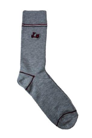 Calcetines lisos gris