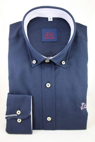Camisa Oxford Marino
