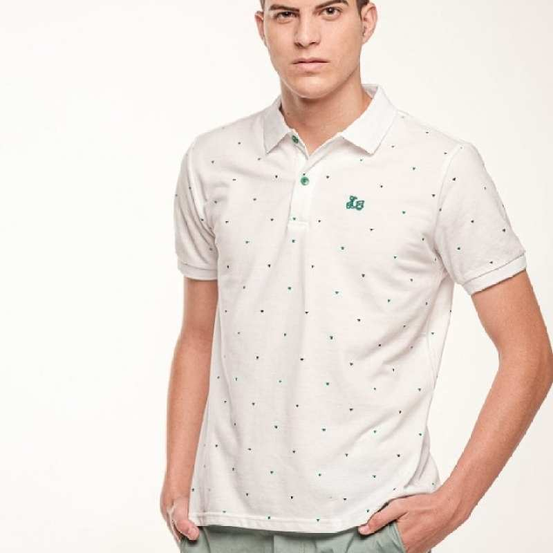 Polo estampado geométrico [+3 colores]