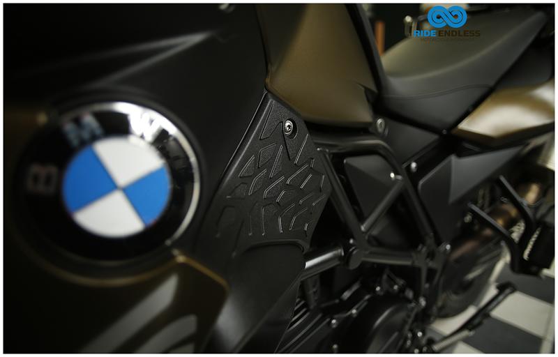 BMW F 800 GS COLOR VERDE