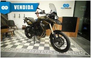 BMW F 800 GS COLOR VERDE MODELO 2013