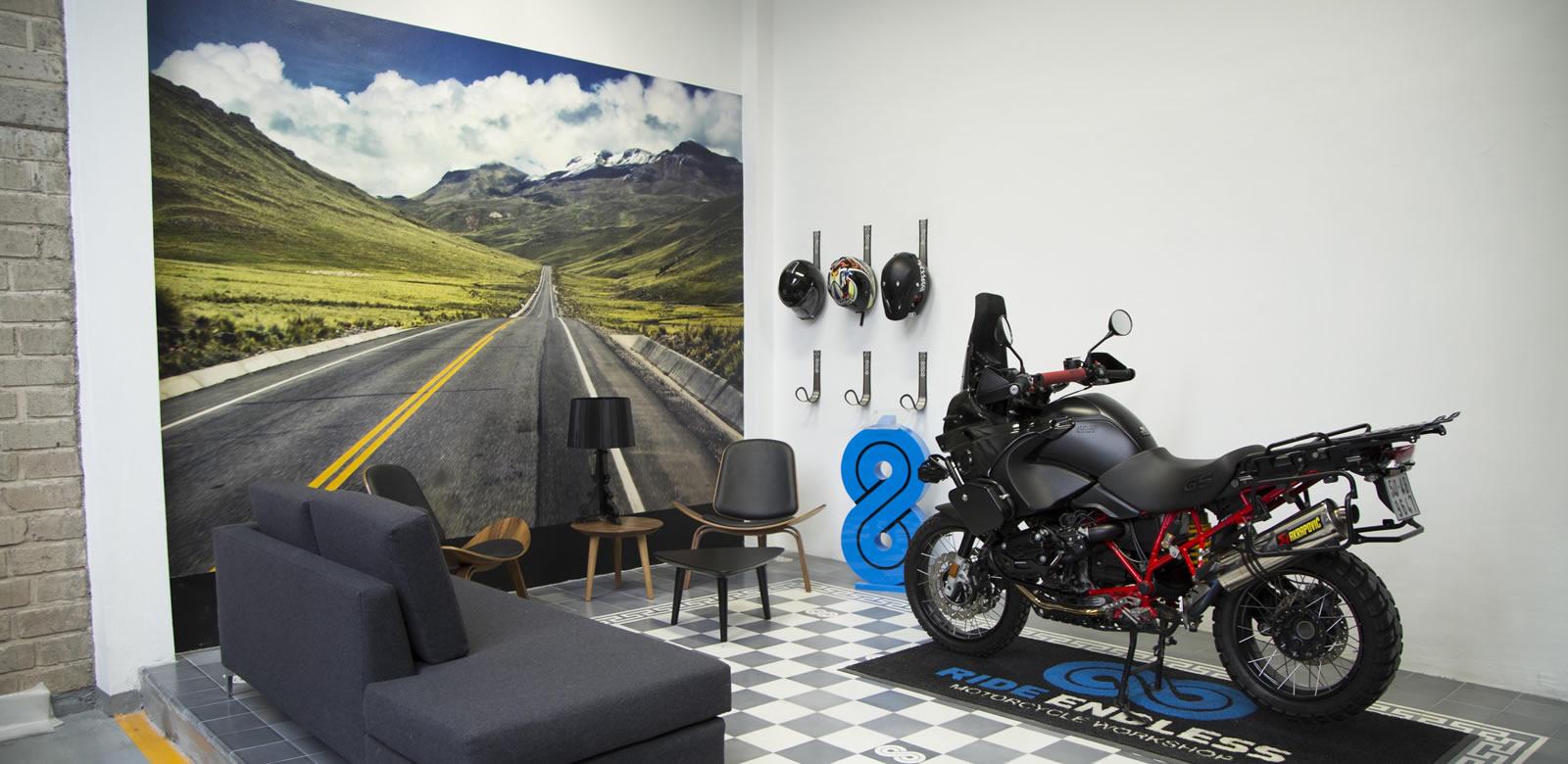 taller de reparación motos bmw