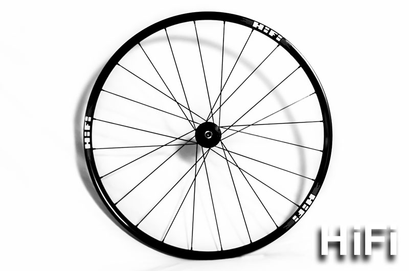 Lightweight, durable, rocking. The HiFi Hootenany aluminum MTB wheel.