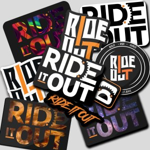 Ride it Out STICKER-PACK