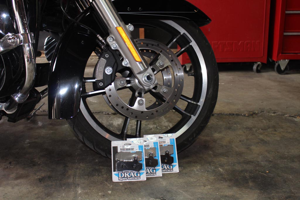 Got Pads? Replacing Brake Pads on a Harley With ABS - Ride