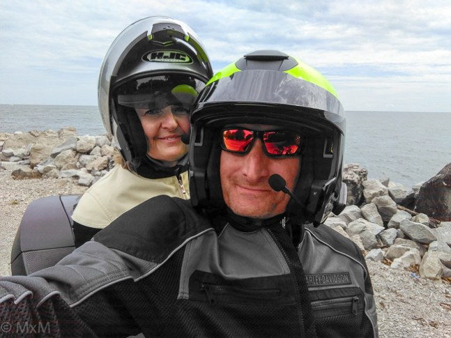 Adventure travel along the rocky shores of the Great Lake Erie!