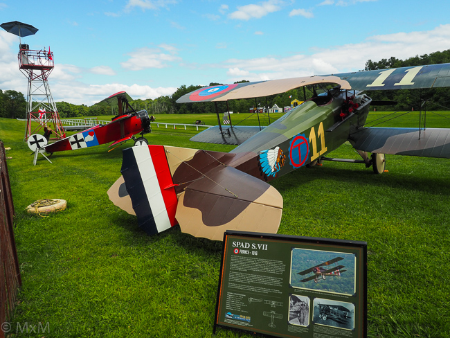 Spad and Fokker