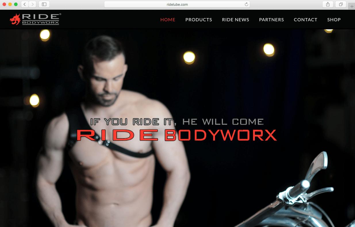 ride bodyworx relaunches website for the modern man