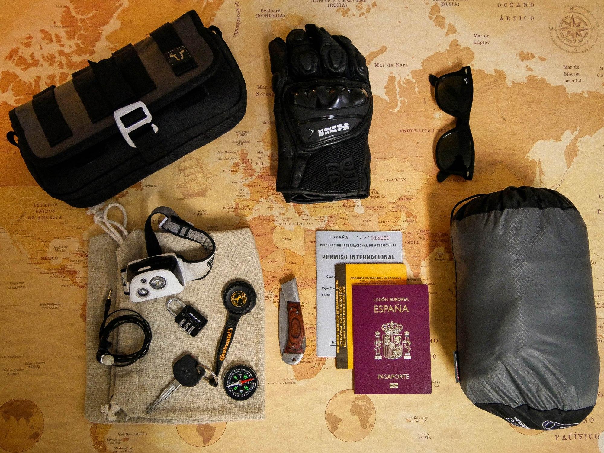 Como preparar un viaje en moto
