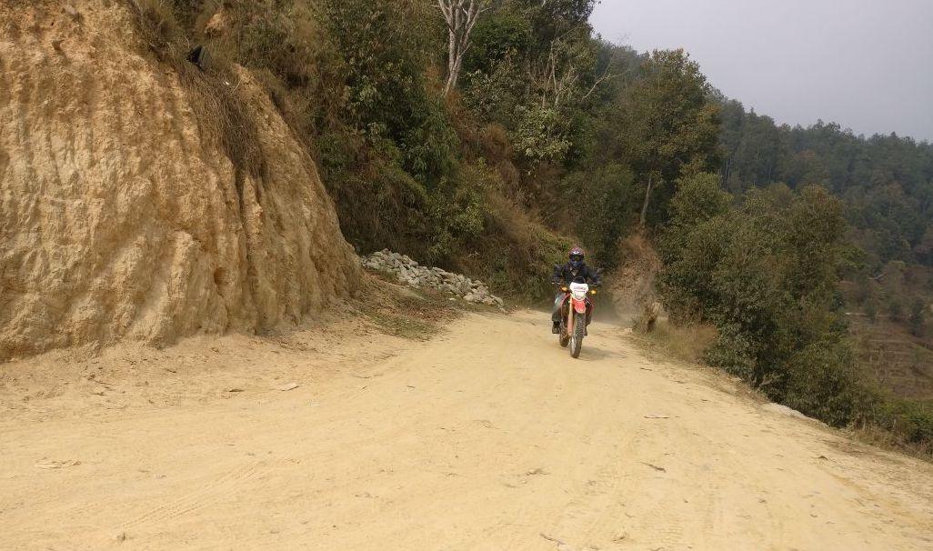 off road recce pokhara