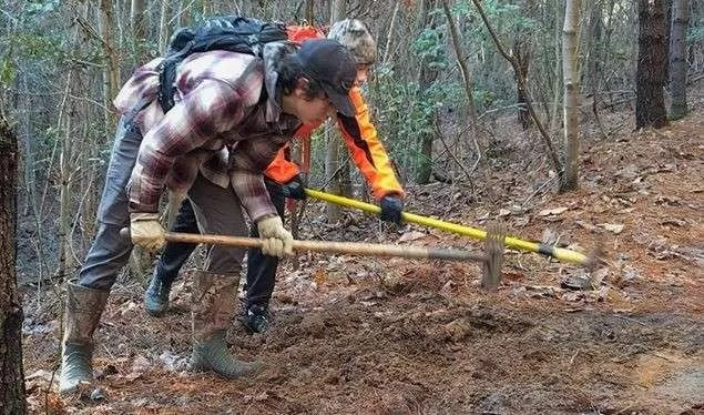 NICA Athletes Contributing to Northwest NC Trails