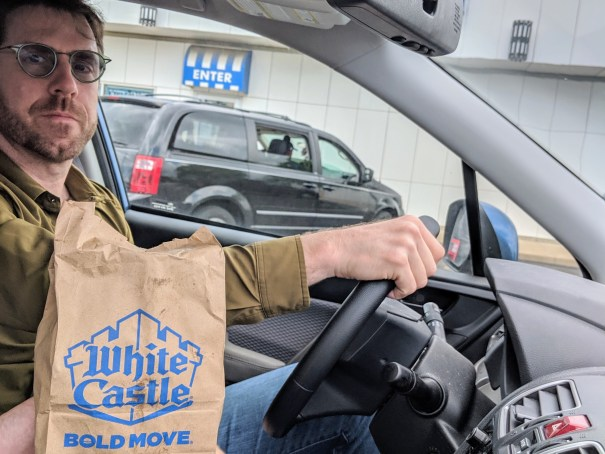 Mark Has His First White Castle