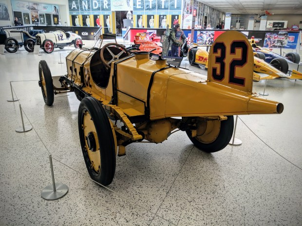 The Antique Racers at the IMS Museum