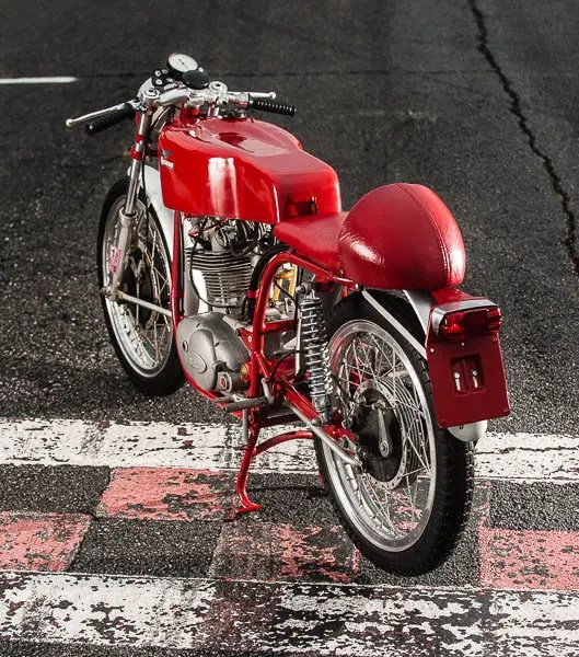This particular Ducati was one of only 10 units imported to the USA specifically for racing.