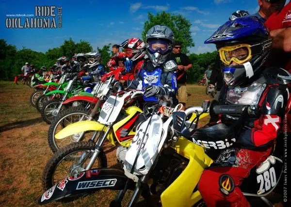 OCCRA race in Guthrie at Make Promises Happen