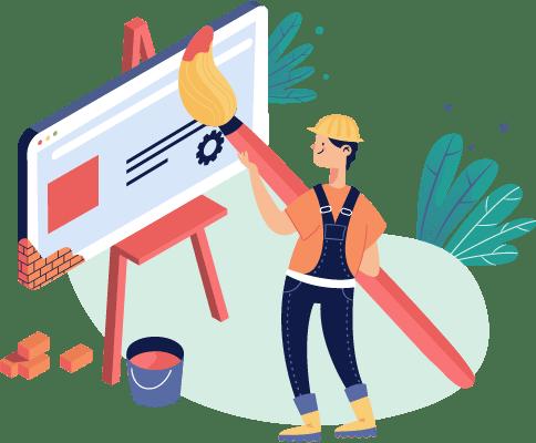 בניית אתר תדמית