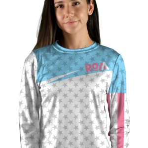 womens long sleeve knievel mountain bike jersey