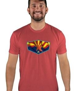 mens mtb copper state cardinal t-shirt