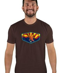 mens mtb copper state espresso t-shirt