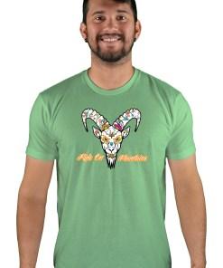 mens mtb el muerto apple green t-shirt